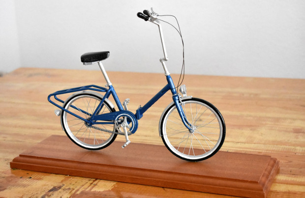 Scale model bicycle reproduction