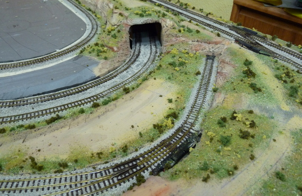 Railway model landscape bases