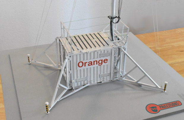 1:17 scale antenne mobile reproduction