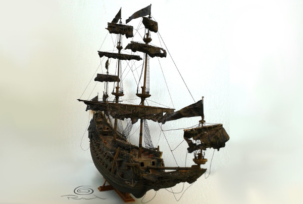 Pirate ship of 50cm long