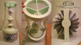 Functional descriptive turbine scale model