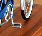 bicycle 3d printed scale model made por a gift