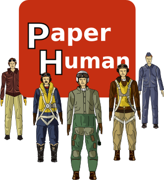 paper scale model figures