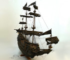 Pirate ship front