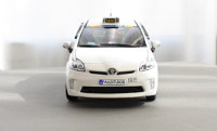 Prius Taxi of Madrid reproduction